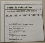 Belle + Sebastian - The Boy With The Arab Strap, Lyric book