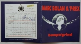 T Rex (Bolan, Marc) - Bump 'n' Grind, Booklet