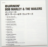 Marley, Bob - Burnin', Lyric book