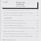 Boston - Walk On, Japanese insert