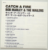 Marley, Bob - Catch a Fire, Lyric book