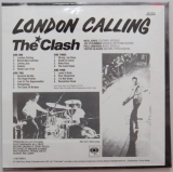 Clash (The) - London Calling, Back cover