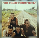 Clash (The) - Combat Rock, Front Cover