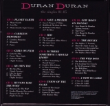 Duran Duran - The Singles 81-85 Boxset, Box [Back]