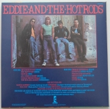 Eddie & The Hot Rods - Teenage Depression, Back cover