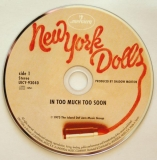 New York Dolls - Too Much Too Soon, CD