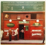 Doors (The) - Morrison Hotel, Back cover