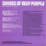 Deep Purple : Shades Of Deep Purple : Back cover wo/Obi