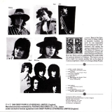 Deep Purple : The Book of Taliesyn : Back cover wo/Obi