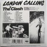Clash (The) : London Calling : Back Cover