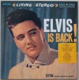 Presley, Elvis - Elvis Is Back!, Front Cover