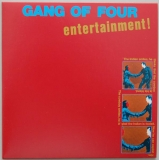 Gang Of Four - Entertainment, Front Cover
