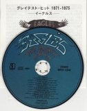 Eagles - Their Greatest Hits 1971-1975, CD & lyric sheet