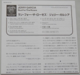 Garcia, Jerry - Run For The Roses, Lyric book