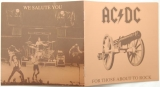 AC/DC - For Those About To Rock We Salute You, Booklet