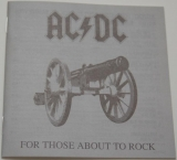 AC/DC - For Those About To Rock We Salute You, Lyric book