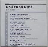 Raspberries - Fresh, Lyric book