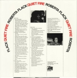 Flack, Roberta : Quiet Fire : Back