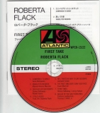 Flack, Roberta : First Take : CD & Japanese insert