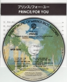 Prince - For You, cd & lyric booklet