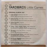 Yardbirds (The) - Little Games, Lyric sheet