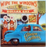 Allman Brothers Band (The) - Wipe the Windows, Check the Oil, Dollar Gas, Front cover