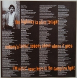 Springsteen, Bruce - The Ghost of Tom Joad, Inner sleeve side A