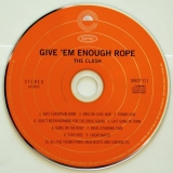 Clash (The) - Give 'em Enough Rope, CD