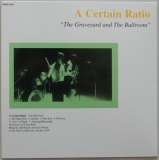 A Certain Ratio - The Graveyard and The Ballroom, Back cover