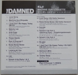 Damned (The) - Machine Gun Etiquette , Lyric book