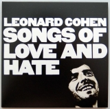 Cohen, Leonard - Songs of Love and Hate +1, Front cover