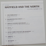 Hatfield + The North - Hatfield and The North, Lyric book