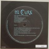 Cure (The) - Head On The Door , Font Label (numbered)