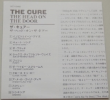 Cure (The) - Head On The Door , Lyric book
