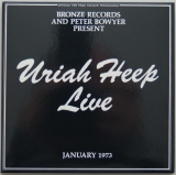Uriah Heep - Live, Front Cover