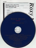 Roxy Music - Heart Still Beating, CD & lyric sheet