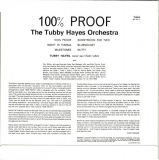 Hayes, Tubby Orchestra (The) : 100% Proof : Back
