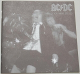 AC/DC - If You Want Blood You've Got It, Lyric book