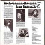 Iron Butterfly - In A Gadda Da Vida, Back Cover