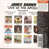 Brown, James - Live At The Apollo, Back Cover