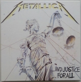 Metallica - ...And Justice for All, Front Cover