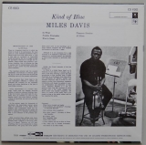 Davis, Miles - Kind Of Blue, Back cover