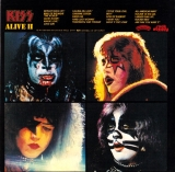 Kiss : Alive II [Live] [2CD] : back
