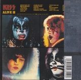 Kiss : Alive II [Live] [2CD] : back with OBI