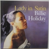 Holiday, Billie - Lady In Satin, Front Cover