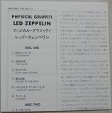 Led Zeppelin - Physical Graffiti, insert