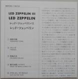 Led Zeppelin - III, Lyric book