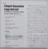 Fairport Convention - Liege and Lief +2, Lyric book
