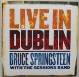 Springsteen, Bruce (Whit the Sessions Band) - Live in Dublin, Front Cover