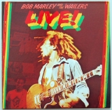 Marley, Bob - Live!, Front cover